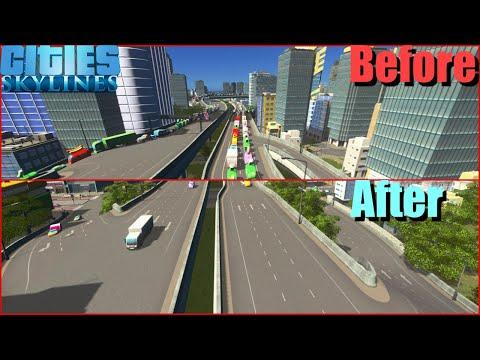 シティーズスカイラインズ 渋滞対策#18 想像を絶する渋滞を解消 完結編 TM:PE(mod)使用