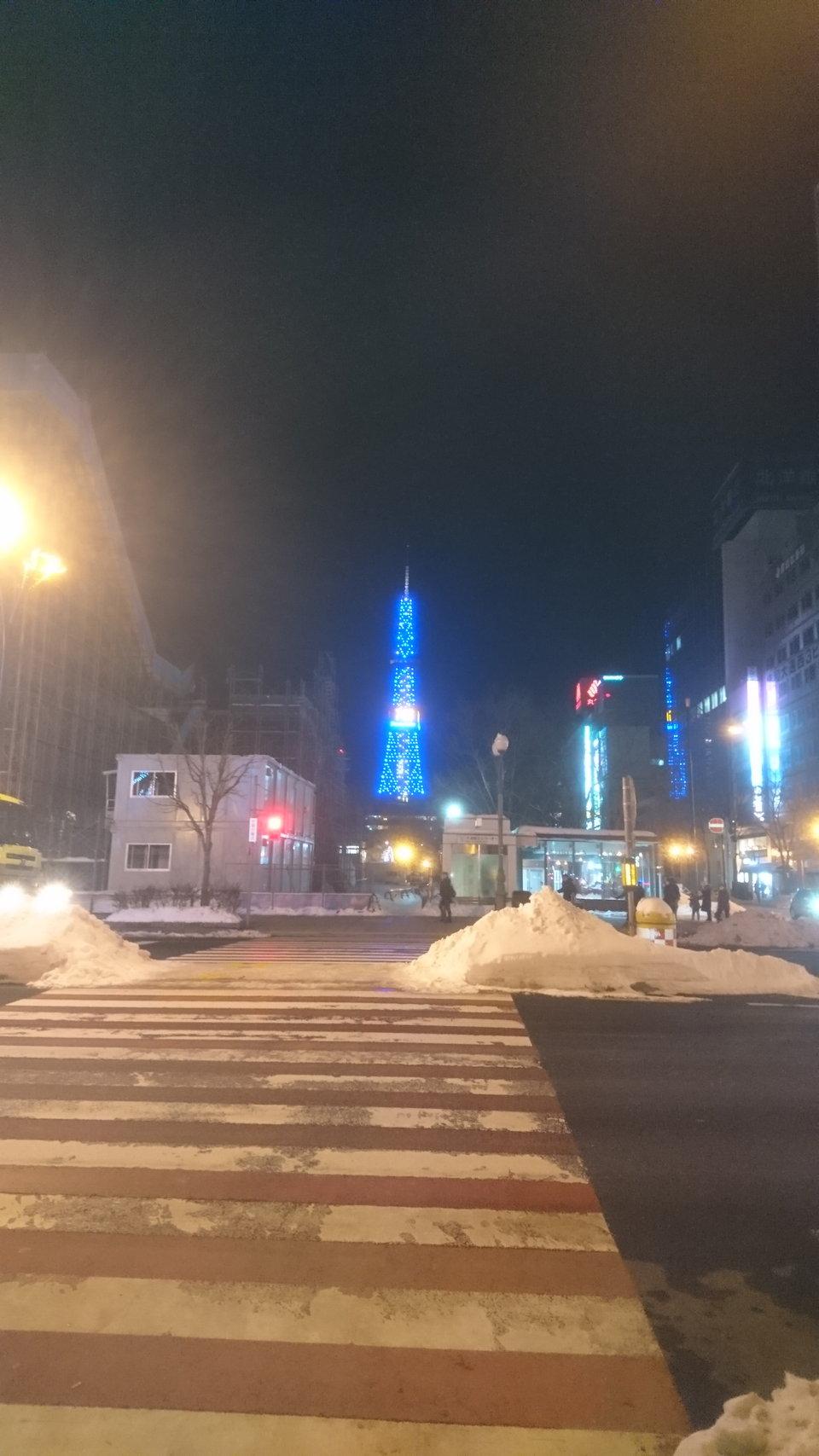 テレビ塔ライトアップ