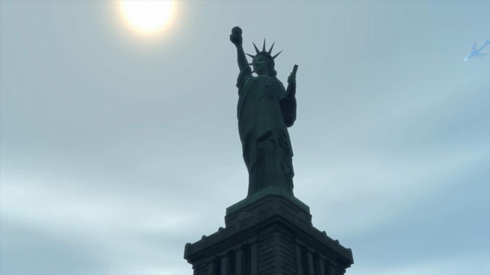 GTA4の自由の女神