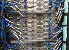サーバーのネットワーク配線