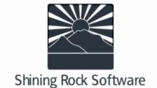 Shining Rock Software ロゴ