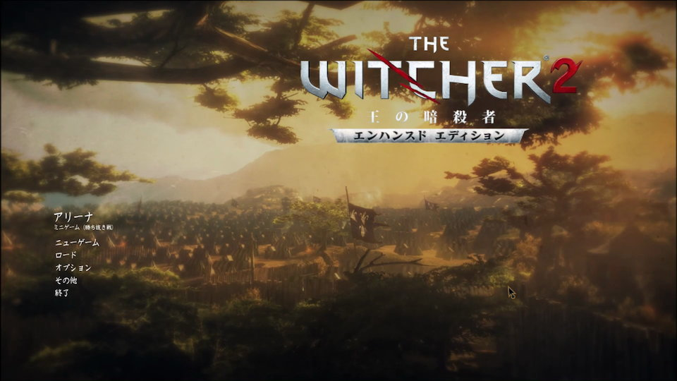 THE WITCHER2 Title