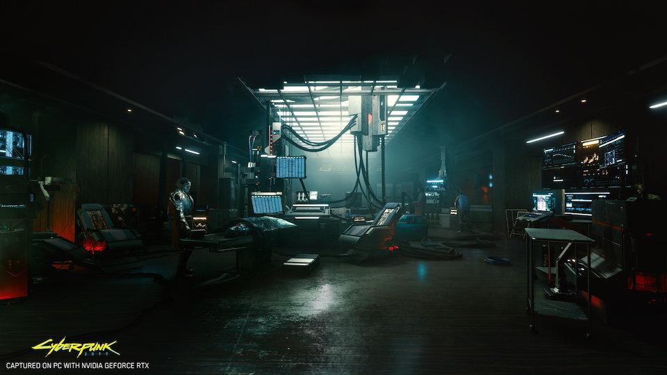 サーバーパンクゲーム画面1
