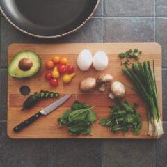 料理 まな板 包丁 材料