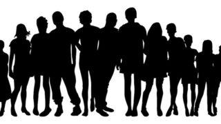 人間 シルエット 多様性
