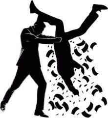 人 逆さま 振る お金 ばら撒く 落とす 落ちる 収奪