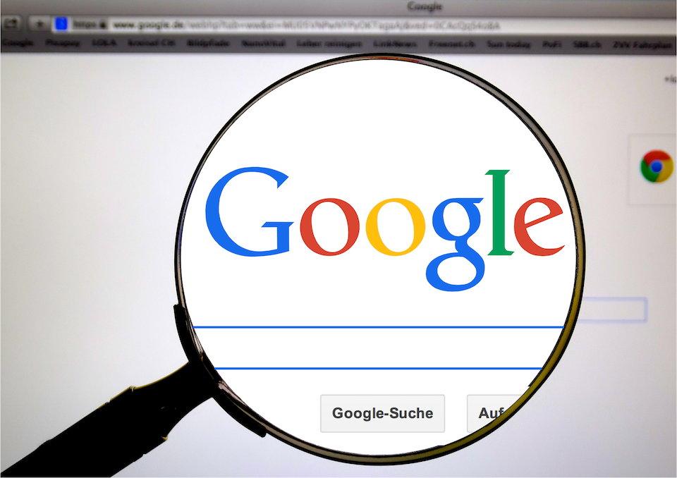 Google 検索 WEBサイト インターネット