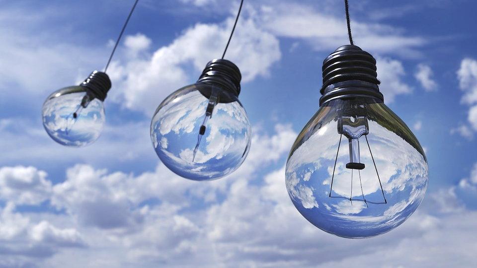 電球 ランプ 3つ