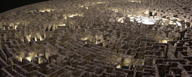 迷路 迷宮 複雑