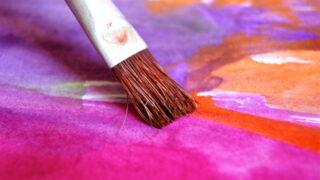 ペイント 彩色 筆