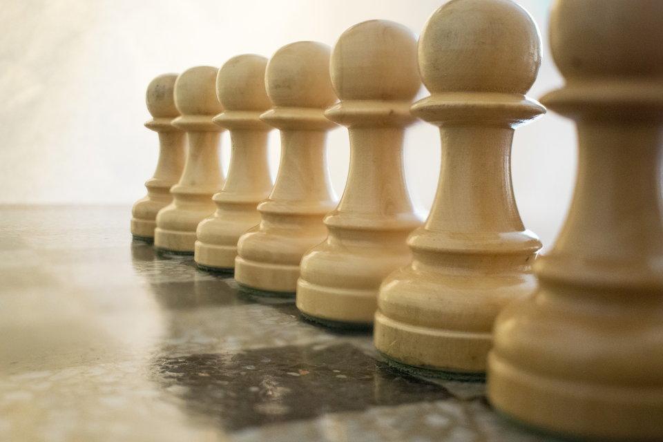 チェス ポーン ホワイト