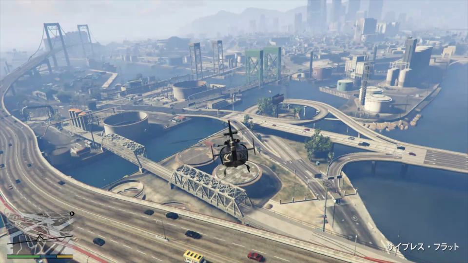 GTA5 ヘリコプター 風景 景色