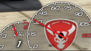 GTA5 MOD LeFix Speedo meter