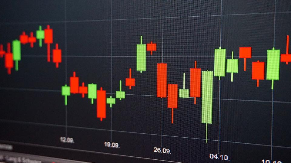 FX 取引 グラフ ローソク足